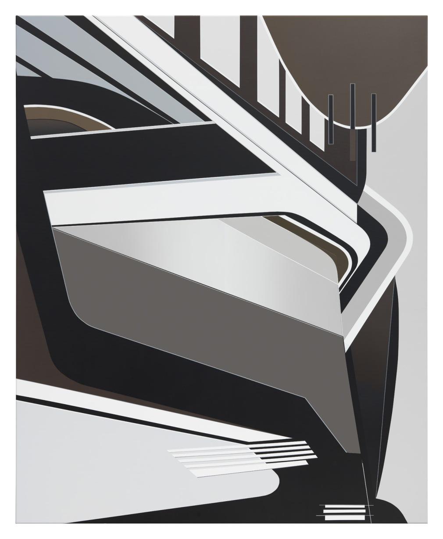 TAKE TIME, (Maxxi II), 2017, 160 x 130 cm