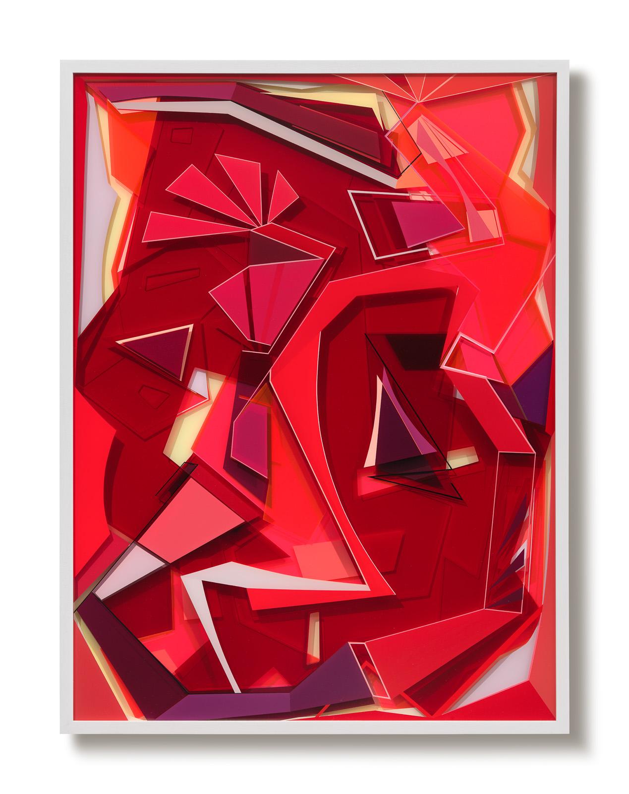 TAKE A WALK, 2017, 100 x 75 cm